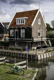 Ancient Dutch houses royalty free stock photo