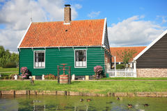 An ancient Dutch village Royalty Free Stock Photography