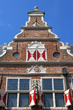 Ancient Dutch weigh house in Enkhuizen Royalty Free Stock Images