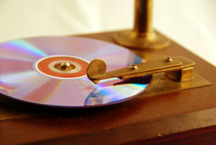 Ancient DVD player Stock Photography