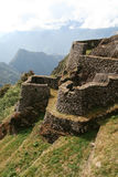 Ancient dwelling, Machu Picchu Stock Photography
