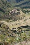 Ancient dwelling ruins, Machu Picchu Royalty Free Stock Photos