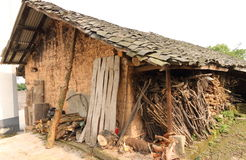Ancient dwelling. It's the typical ancient dwelling in west of china Royalty Free Stock Photo
