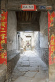 Ancient dwellings courtyard Gallery Stock Photo