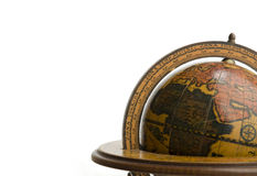 Ancient Earth Globe Stock Image