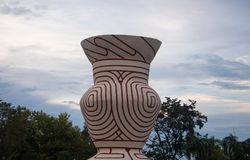 Ancient Earthenware, Ban Chiang in Thailand. Ancient Earthenware, Ban Chiang,Udonthani Stock Photography