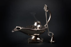 Ancient eastern oil lamp Stock Photo