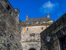 Ancient Edinburgh Castle, Scotland Royalty Free Stock Photos