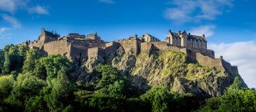 Ancient Edinburgh Castle, Scotland Stock Image