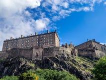 Ancient Edinburgh Castle, Scotland Royalty Free Stock Image