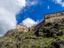 Ancient Edinburgh Castle, Scotland Stock Photos
