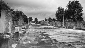 Ancient Efes Avenue Stock Photos