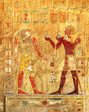 Ancient egypt color images Royalty Free Stock Images