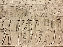 Ancient egypt images and hieroglyphics Stock Photo