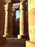 Ancient Egypt pillars Royalty Free Stock Images