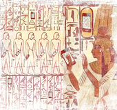 Ancient Egypt smart phones Royalty Free Stock Image
