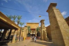 'Ancient Egypt' in Universal Studio, Singapore Royalty Free Stock Image