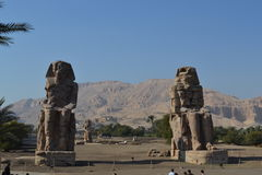 Ancient Egyptian Architecture. World attractions. Stock Photography