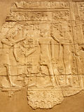 Ancient Egyptian bas-relief Royalty Free Stock Photo