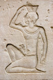 Ancient Egyptian carving Stock Photography