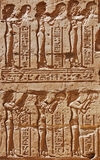 Ancient Egyptian carving, Egypt Stock Photos