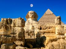ancient Egyptian civilization. Great Sphinx stock photos