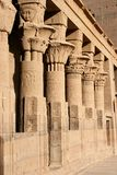 Ancient Egyptian Columns Royalty Free Stock Photo