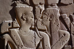 Ancient Egyptian Embrace Stock Images