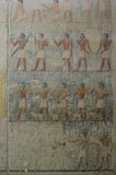 Ancient Egyptian fresco Stock Image