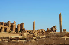 Ancient Egyptian Karnak Temple Royalty Free Stock Photography