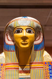 Ancient Egyptian Mummy Sarcophagus Royalty Free Stock Photography