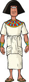 Ancient Egyptian nobleman Royalty Free Stock Images