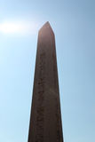 Ancient Egyptian Obelisk in Instanbul Stock Photo