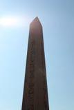 Ancient Egyptian Obelisk in Instanbul Stock Photo
