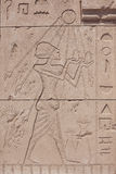 Ancient egyptian paintings stock photos