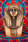 Ancient Egyptian Pharaoh Statue stock photography