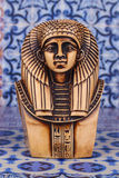 Ancient Egyptian Pharaoh Statue royalty free stock photo