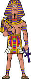 Ancient Egyptian Pharaoh Stock Photo