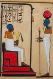 Ancient Egyptian  pharaonic art Royalty Free Stock Image