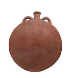 Ancient Egyptian pottery isolated. Stock Photography