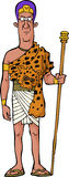 Ancient Egyptian priest Stock Photography