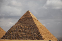 Ancient egyptian pyramid Royalty Free Stock Photography