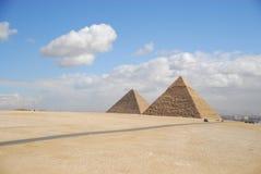 Ancient egyptian pyramid Royalty Free Stock Photography
