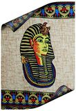 Ancient egyptian  roll Royalty Free Stock Photography