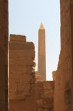 Ancient Egyptian ruins Luxor Royalty Free Stock Photos