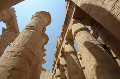 Ancient Egyptian ruins Luxor Royalty Free Stock Photo