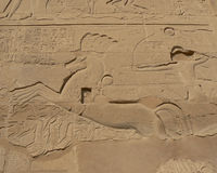 Ancient egyptian script Royalty Free Stock Photography