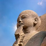 Ancient Egyptian statue Stock Images