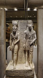 Ancient Egyptian sculptures in Metropolitan museum Stock Photos