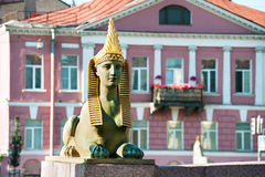 Ancient Egyptian sphinx, St Petersburg Royalty Free Stock Photos